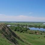 Река Ока. Район - Спасск Рязанский