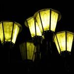 Ночные фонари Рязани