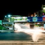 ТЦ Полсинаут, железнодорожный мост, Московское шоссе